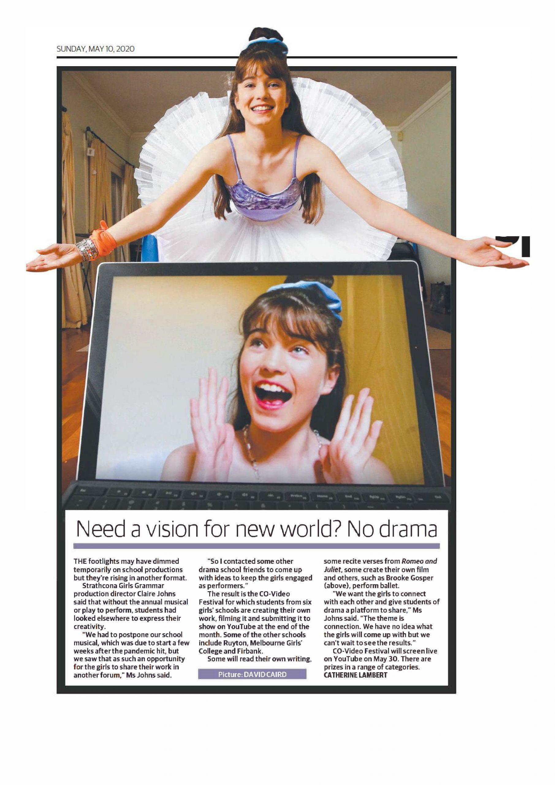 Co-video festival Herald Sun