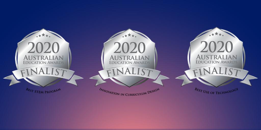 Education awards finalist