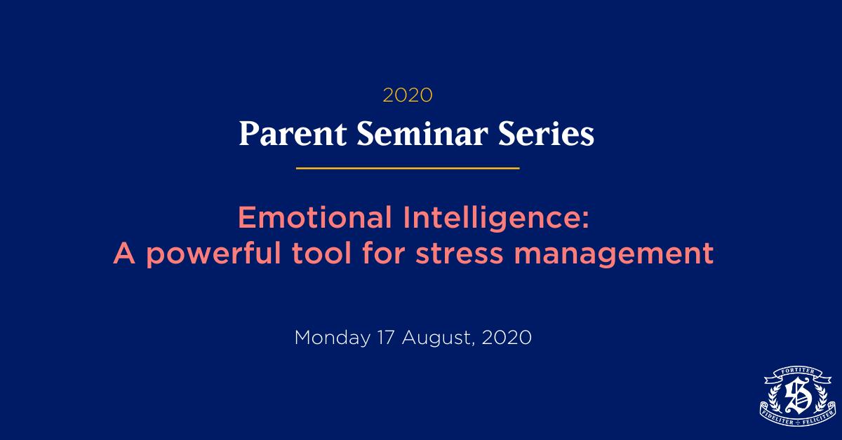 Seminar emotional intelligence