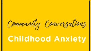 childhood anxiety graphic