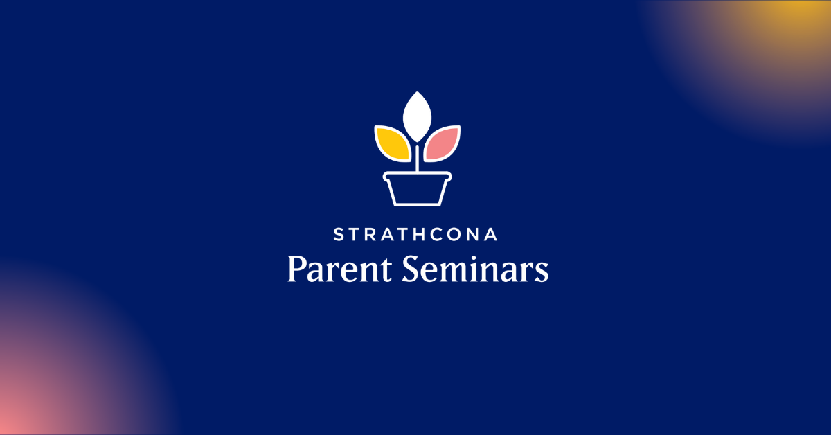 parent seminar banner