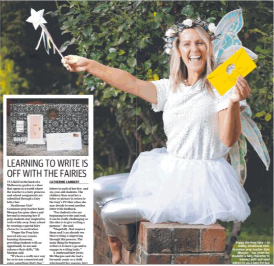 Herald Sun writing article