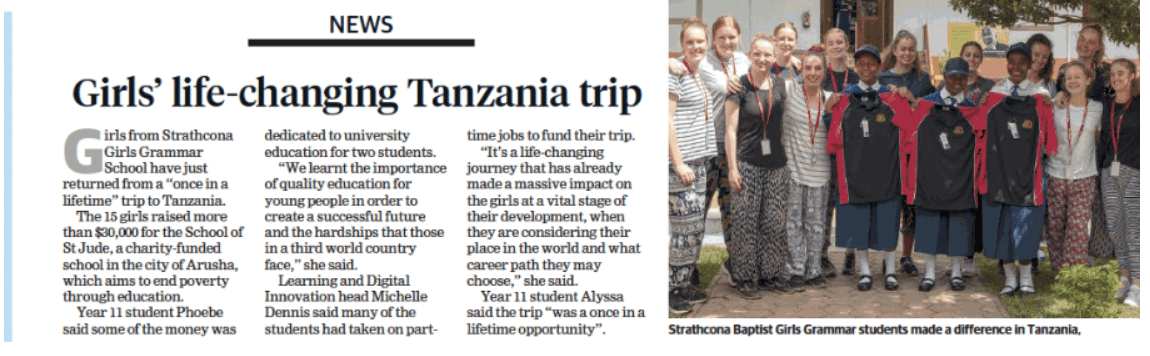 tanzania trip article