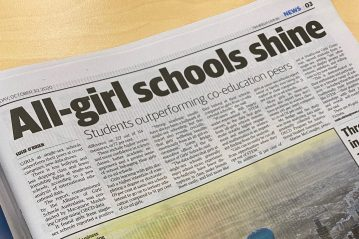 All girls schools shine