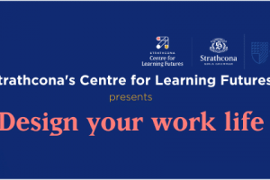 Design your work life web banner