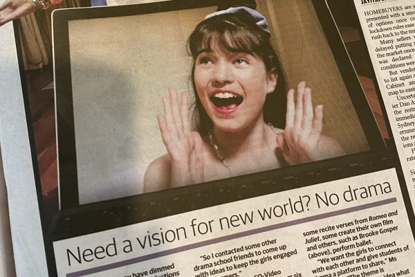 Herald Sun drama article