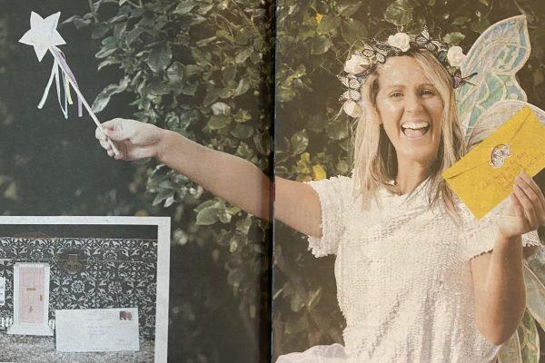 Herald Sun Fairy writing