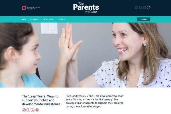The Parent Website
